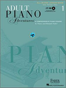 Faber's Adult Piano Adventures Book 1