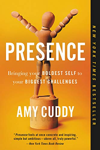 Book cover of Presence by Amy Cuddy